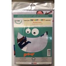 Nappes éducatives à colorier - Les Professions -Bimoo