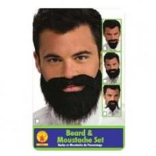 Ensemble de Barbe et Moustache