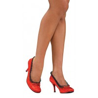 Bottes de poupée rouges (L)