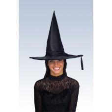Chapeau de sorcière satiné