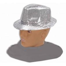 Chapeau à Paillette Argent