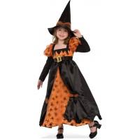 Costume de sorcière à motif araignée (L)