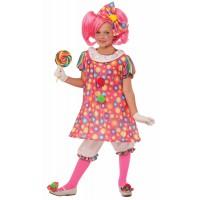 Costume de clown à bonbons