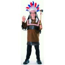 Costume d'Amérindien