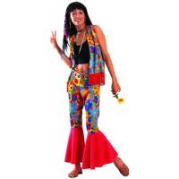 Costume fleurie de hippie (U)