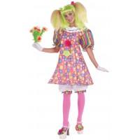 Costume de clown à pois (STD)