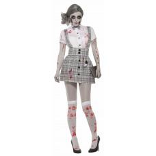 Costume d'écolière zombie (STD)