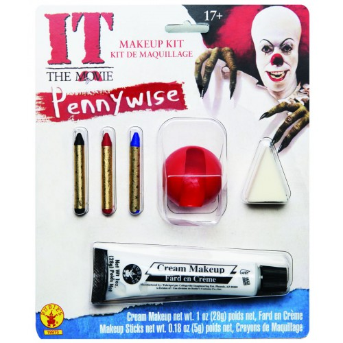 Maquillage De Pennywise Le Clown Maléfique
