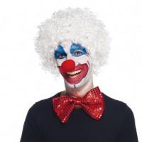 Perruque de Clown blanche