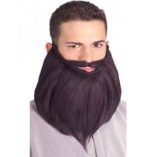Barbe longue et moustache