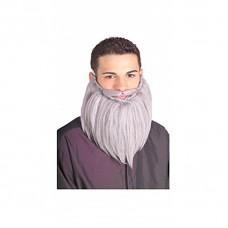 Barbe longue avec moustache
