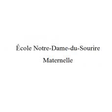 École Notre-Dame-Du-Sourire - Maternelle 2021-2022