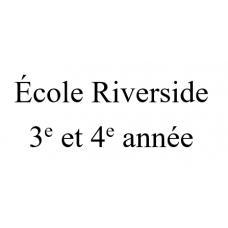 École Riverside - 3e et 4e année 2021-2022