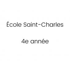 École Saint-Charles 4e année 2021-2022