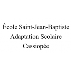 École Saint-Jean-Baptiste Adaptation scolaire (Cassiopée) 2021-2022
