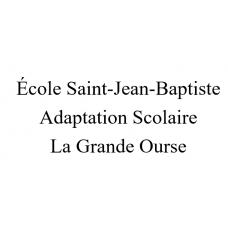 École Saint-Jean-Baptiste - La Grande Ourse 2021-2022