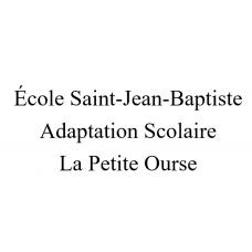 École Saint-Jean-Baptiste - La Petite Ourse 2021-2022