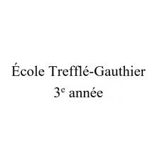 École Trefflé -Gauthier 3e année 2021-2022