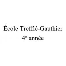 École Trefflé-Gauthier 4e année 2021-2022