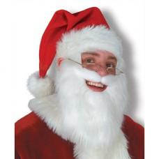 Chapeau de Père Noël avec barbe