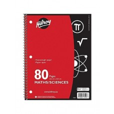 Cahier ligné Hilroy 80 pages
