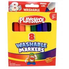 Paquet de 8 marqueurs lavable Playskool