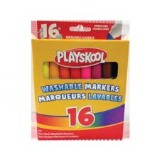 Paquet de 16 marqueurs lavables Playskool