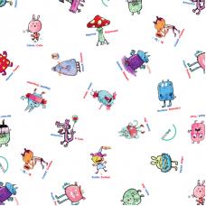 Nappes éducatives à colorier - Les émotions -Bimoo